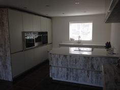 Rotpunkt with Okite worktops completed end of May Work Tops, Kitchen Designs, Flat Screen, Kitchens, House, Ideas, Blood Plasma, Home, Cuisine Design
