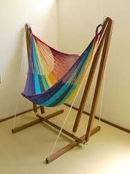 Image result for hammock chair stand diy