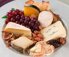 It probably seems odd to think of fruit and cheese party platters as trendy. wine-and-cheese Fromage Cheese, Cheese Fruit, Cheese Platters, Wine Cheese, Fruit Platters, Cheese Bread, Cheddar Cheese, Think Food, Cheese Party