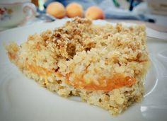 Crumble řezy s kokosem a meruňkami – Snědeno. Krispie Treats, Rice Krispies, Rice Krispie Treats