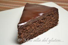 """Más allá del gluten...: Torta de Chocolate """"sin Harina"""" (Receta GFCFSF)"""