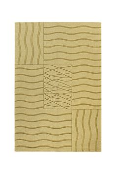 Soho Hand Loomed Wool Rug - Gold 8 X 10  $299