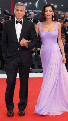 George Clooney and Amal Clooney: 2017 Venice Film Festival: Star Sightings