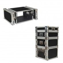 "RoadCase 4 Space 4u 18"" Deep Heavy Duty 3/8"" ATA Amp Rack Case - $124"