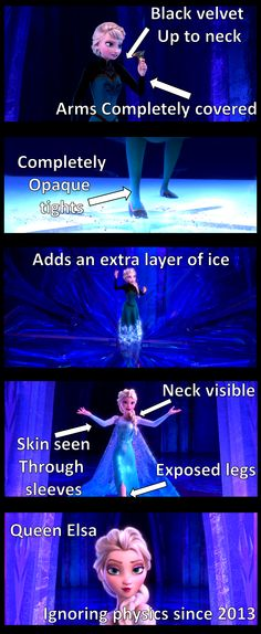 Queen Elsa is freakin AWESOME!!!