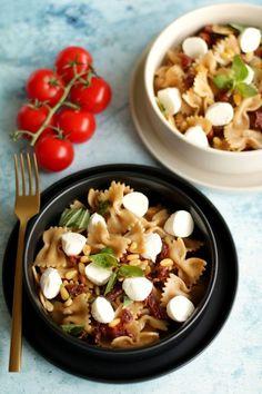 Mediterrán tésztasaláta recept