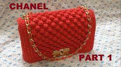 How to Crochet Bag CHANEL part 1 - Hướng dẫn móc túi xách CHANEL P1