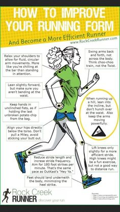 Running form tips :-)