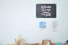 Inspiración y diseño en el taller