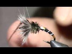 Fliegenbinden Tenkara Special Jungle Cock - YouTube