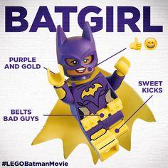 LEGO Batgirl's skills are savage!