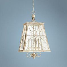 "Quorum Charme 15 1/4"" Wide Parisian White Pendant Light - #2Y146 | LampsPlus.com"