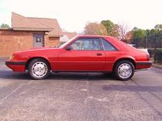Image result for 1986 ford mustang svo