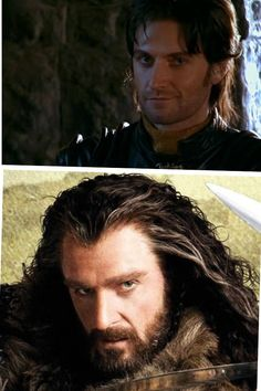 Sir Guy of Gisborne and Thorin Oaken Shield. I really like this dudes face...