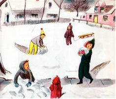 One Mitten Lewis - written by Helen Kay, illustrated by Kurt Werth (1955).