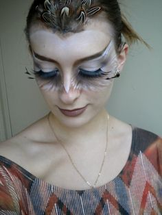 Opulent Owl | 101 Real-Girl Halloween Costumes That Are Terrifyingly Gorgeous | POPSUGAR Beauty