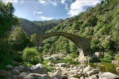 Les gorges de la Spelunca,Corse.