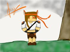 Made with Paper / fiftythree.com By:Jay Minecraft jaygotmoves