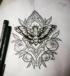 sketch polilla #tattoo #tatuaje #sketch #sketchtattoo #tattoodesign #polillatattoo #polilla #buterflytattoo #flowertattoo #peonietattoo #girltattoo #femaletattoo #tattoomariposa #mariposa #diseñomariposa #sharonosbournetatuadora #tattooartist #lineworktattoo #linework #tatuadora #ink