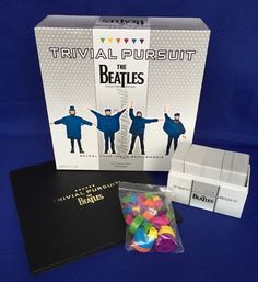 The Beatles Trivial Pursuit Board Game Collectors Edition Hasbro Beatlemania #Hasbro
