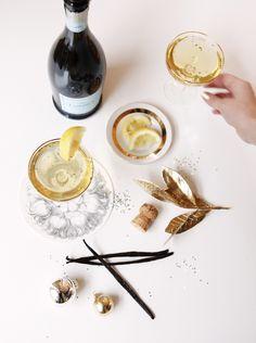 champagne • bourbon • vanilla