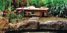 Kohala Spa, Hawaii (Kona Hilton) - one of the most beautiful spas in the world.