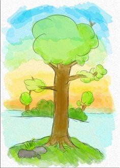 getekende boom - Google zoeken