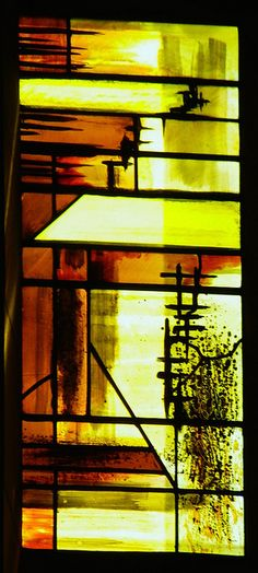 Baptistry window (detail), Coventry Cathedral - John Piper
