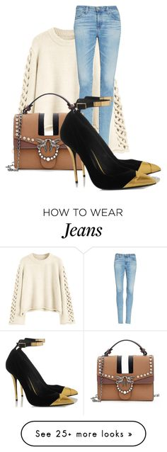 """""""Untitled #2703"""" by azra-90 on Polyvore featuring AG Adriano Goldschmied"""