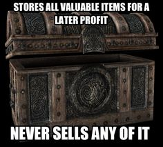 Skyrim World Problems - I think that's pretty much true for all the Elder scrolls games.