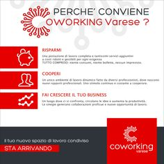 #Infografica #Facebook per #Coworking #Varese (2014) Graphic Portfolio, Co Working, Facebook, Poster, Movie Posters