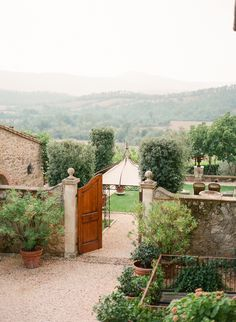 Path to the Garden at the Borgo Santo Pietro   photography by http://www.ktmerry.com/blog/