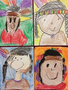 Ayala's Kinder Fun: November in Kinder Fun-Native American Drawings LIKE… Fall Art Projects, Thanksgiving Projects, Thanksgiving Art, Kindergarten Thanksgiving, Thanksgiving Activities, Kindergarten Drawing, Kindergarten Art Projects, Kindergarten Activities, Drawing For Kids