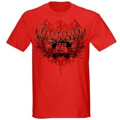 #JoeyLogano Red Wing Tee   Price: $24.00  Order now at: http://store.penskeracing.com/product.php?productid=18711=732=1