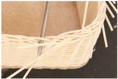 Návod na pletení kazety na šití z pedigu - desátý krok