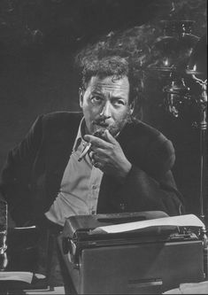 Tennessee Williams by Yousuf Karsh, 1956