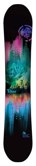 Never Summer Raven Snowboard - Women's Snowboard - All Mountain Board - 2014 / 2015