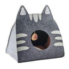 Cat Playground, Cat Cave, Creation Couture, Pet Furniture, Cat Crafts, Grey Cats, Diy Stuffed Animals, Pet Beds, Pet Gifts