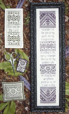Remember Not - Cross Stitch Pattern