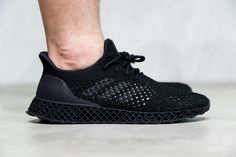 "3D Printed adidas Futurecraft ""Black"" Detailed & On-Foot Look - EU Kicks…"