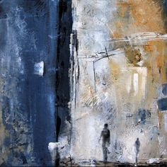 FIGURES - Margarita Lypiridou - 20'' x 20'' - acrylique sur toile