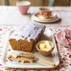 Honey and Spice Loaf Cake - Good Housekeeping