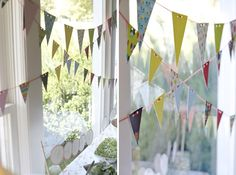 Birds and Bunting Baby Shower