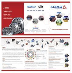 Sueca.com.br propaga sua eficiência com um novo folder desenvolvido pela Ellera.