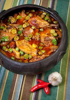 Frango com Quiabo - Foods and Flavors