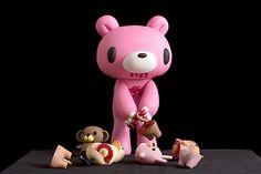 Gloomy Bear and Halfsies. Gloomy Bear: Mori Chack, Japan (2004); Halfsies: Roman Dirge, USA (2005).