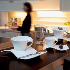 New Wave Dinnerware by Villeroy & Boch