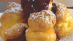 Profiteroles with hot chocolate sauce Recipe : Gordon Ramsay Recipes | LifeStyle FOOD