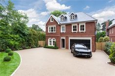 6 bedroom detached house for sale in Cobbetts Hill, Weybridge, Surrey, KT13, KT13
