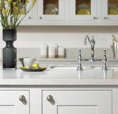 Temp Kitchen Facelift Countertop Granite Overlay | Kitchen, Bath U0026  Commercial | Granite Transformations · Recycled Glass ...
